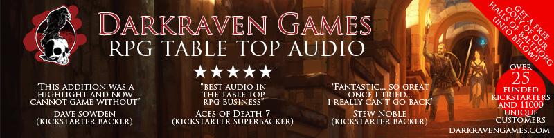 Darkraven Games Fantasy and Sci-Fi Soundscapes