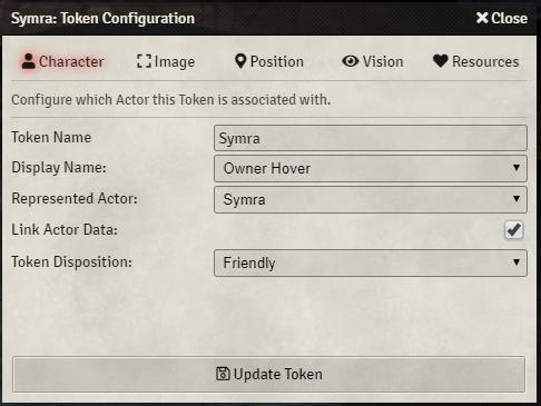 Actor Token Configuration