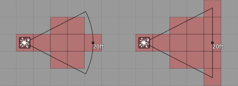 Cone Template Comparison