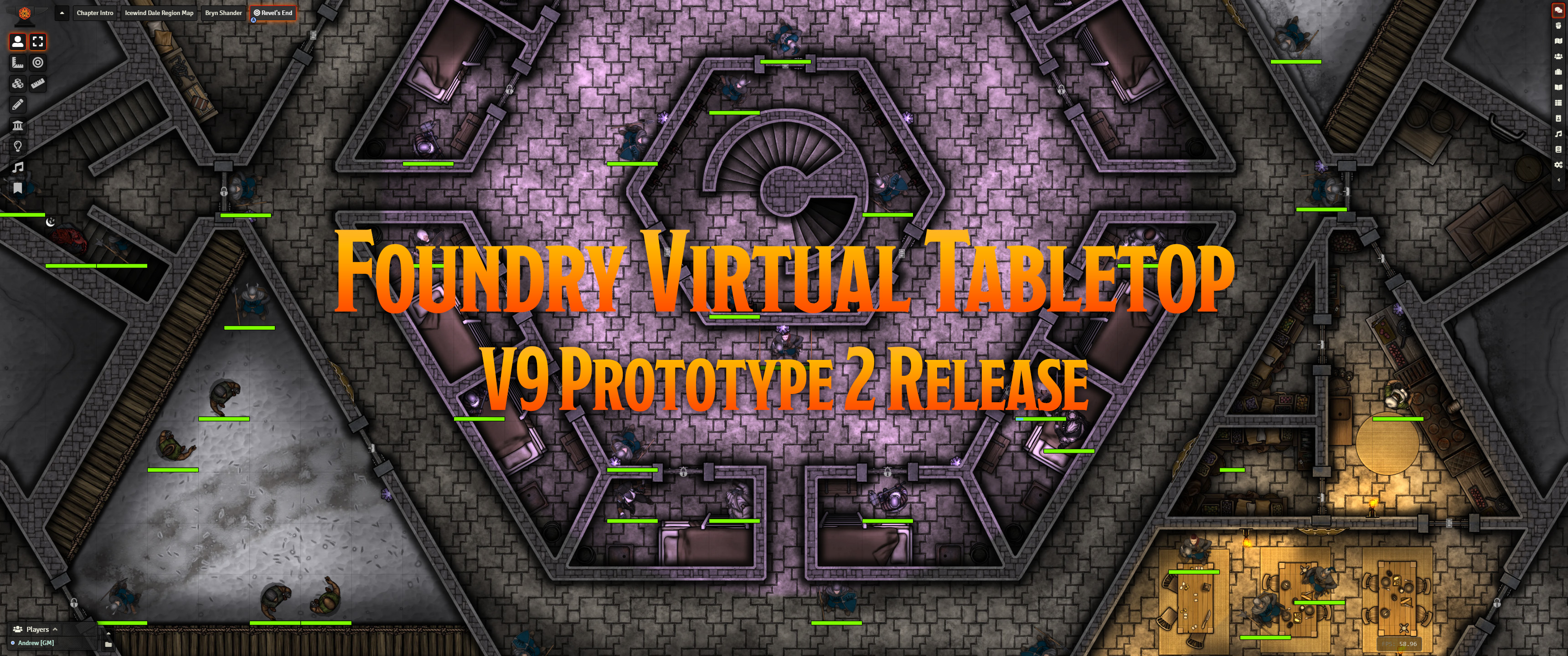 Release Notes for Foundry Virtual Tabletop Version 9 Prototype 2 Release
