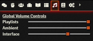 Getting Started - Volume Controls