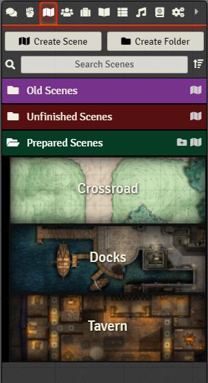 Scenes - Directory