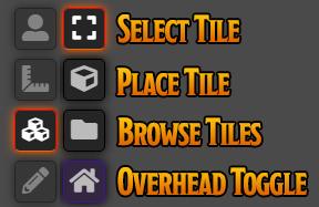 Tiles Control Palette