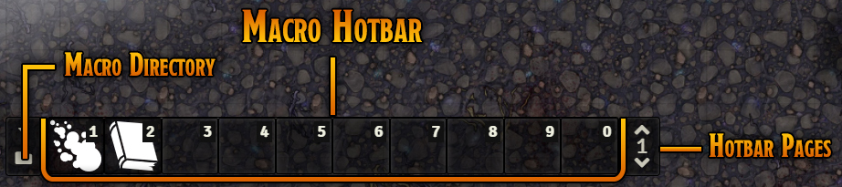 Macro Hotbar