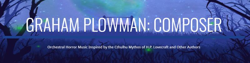 Graham Plowman's Music Pack Banner
